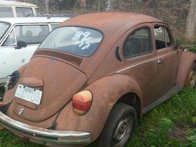 Volkswagen Vw Fusca Sucata