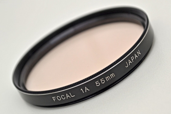 Filtro Focal 1a 55mm (made In Japan - Impecável)