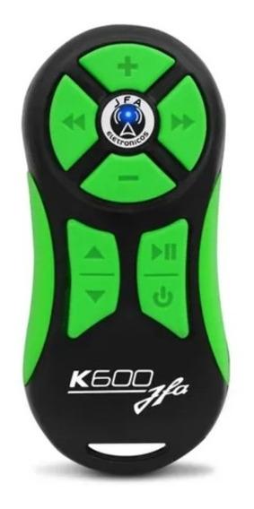 Kit 2 Controles Longa Distancia Jfa Verde Com Preto K600