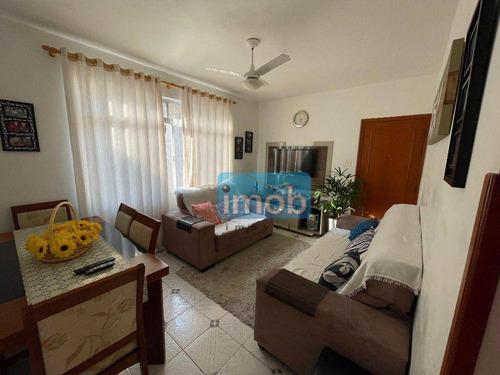Imagem 1 de 11 de Apartamento Com 2 Dormitórios À Venda, 63 M² Por R$ 300.000,00 - Campo Grande - Santos/sp - Ap8011