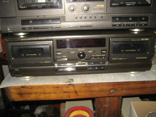 Technics Deck Rs Tr 373 Funcionando Japon 110v
