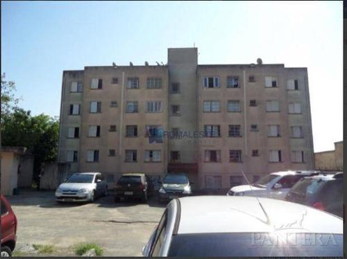 Imagem 1 de 10 de Apartamento Com 2 Dormitórios À Venda, 42 M² Por R$ 190.000,00 - Conjunto Habitacional Teotonio Vilela - São Paulo/sp - Ap0502