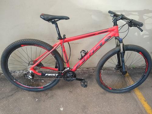 Imagem 1 de 4 de Bicicleta First- 24v Shimano