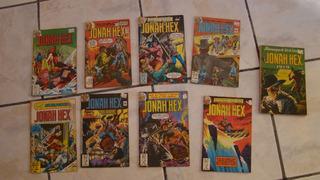 Jonah Hex - Ebal - Lote Com 9 Revistas