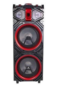 Caixa De Som Torre 500w Rms Dj Mixer Goldentec Csdjg1206