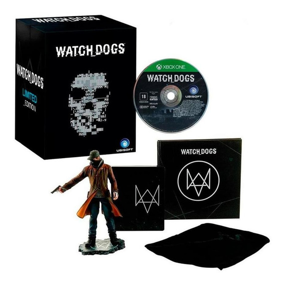 Watch Dogs Limited Edition Xbox One Mídia Física
