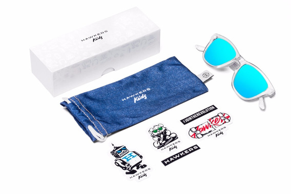 Gafas Hawkers - Clear Blue Kids - Originales