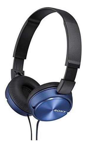 Auriculares De Diademas Color Negro Azul Marca  Sony