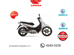 Honda Biz 0km Nueva Hondalomas Concesionario Oficial.
