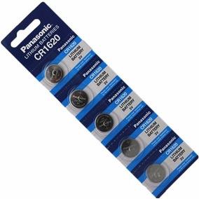 Kit C/ 6 Baterias Panasonic Cr1620 - Lacradas