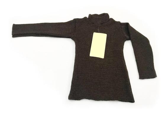 Blusa Básica Cacharrel Infantil Lã Inverno Criança Unissex