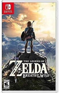 The Legend Of Zelda Breath Of The Wild -nintendo Switch- Off