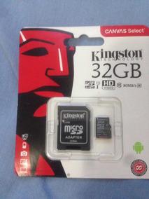 Cartão De Memória Para Câmera Fotográfica 32gb- Kingston