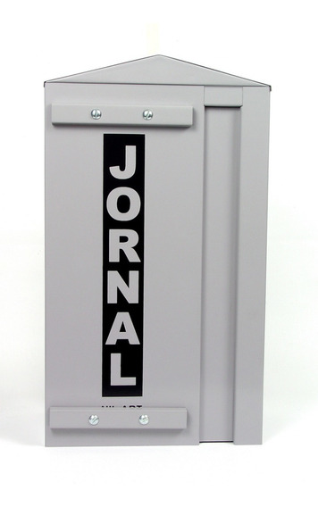 Caixa Jornal Carta Correspondência Entrada Vertical Grade