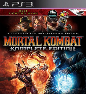 Mortal Kombat Komplete Edition Ps3 Mídia Digital