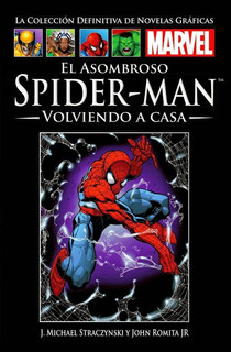 Spider Man Volviendo A Casa (libro Nuevo Cerrado)