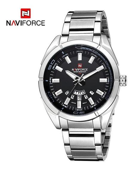 Relógio Naviforce 9038 Com Caixa Original Promoção