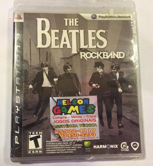 Jogo The Beatles Rock Band Playstation 3 Ps3