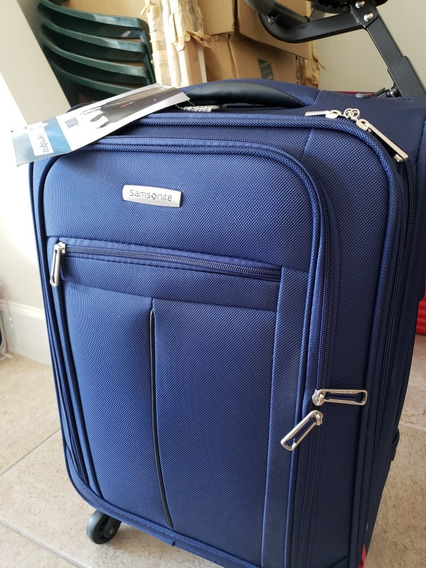 Palermo Samsonite Spinner 20 Color Azul Navy