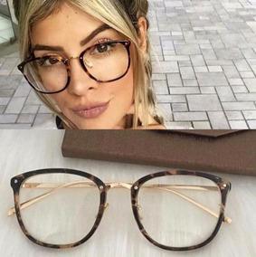7ba1fe87c Oculos De Grau Feminino Quadrado Oncinha - Óculos Armações no ...