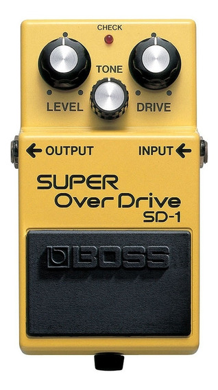 Pedal Boss Sd1 Super Overdrive Novo + Nf E Garantia!