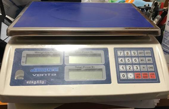 Báscula Dibatec 40kgx5g