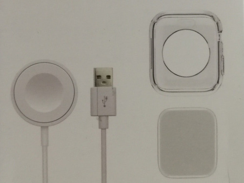 Cargador+protector+screen Para Apple Watch Serie 4 40 Mm