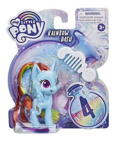 Imagem 1 de 2 de My Little Pony Rainbow Dash - Mini Figura - Hasbro - E9153