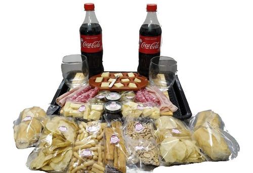 Imagen 1 de 8 de Picada A Domicilio C/coca Cola + Tabla Regalo - (p/2)
