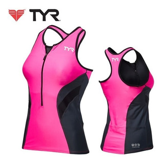 Musculosa Mujer Triatlón Tyr Competitor Ciclismo