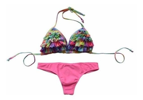 Bikini Triangulo Y Colaless - Le Naif