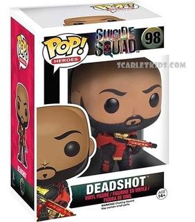 Funko Pop Deadshot Suicide Squad 98 Original Scarlet Kids