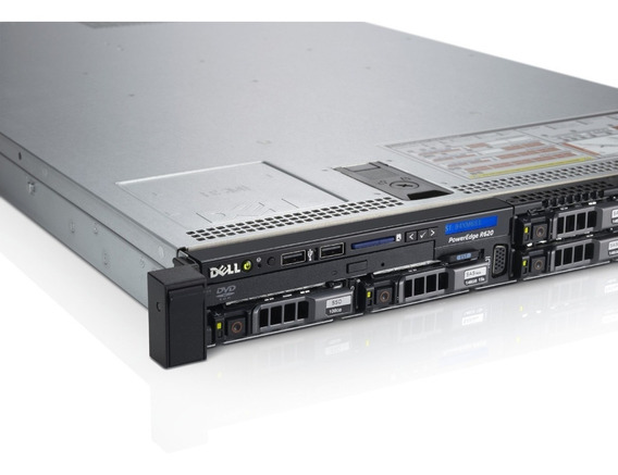 Servidor Dell Poweredge R620 2x 4core 2x 300gb 32gb Ram
