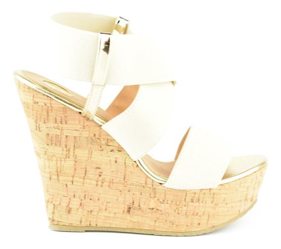 Sandalia Cuña De Mujer Lob Footwear 672-9906 Nuevo Oi19