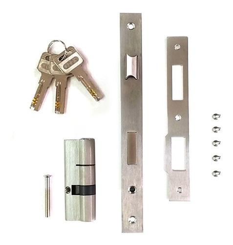Cerradura Con Llaves Para Puerta Aluminio Línea Módena