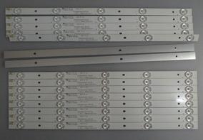 Barra De Led Philco Ph40r86dsgw Em Alumínio Kit C/8 Pçs