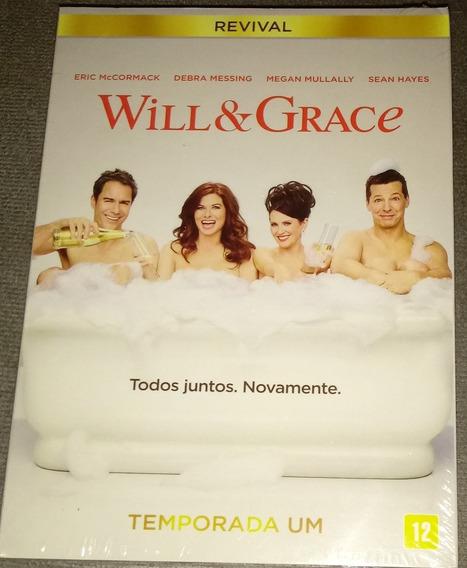 Dvd Will & Grace Revival ( Lacrado ) Temporada Um