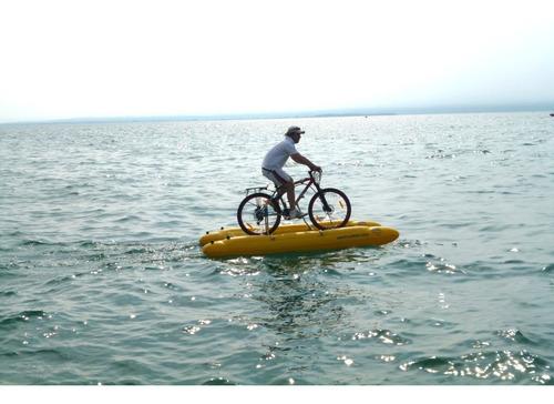 Bicicleta Sobre El Agua - Ver Video