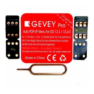 Gevey Pro V13.2.3 Cyber Auto/manual Ios 13.3 Rsim Técnicos