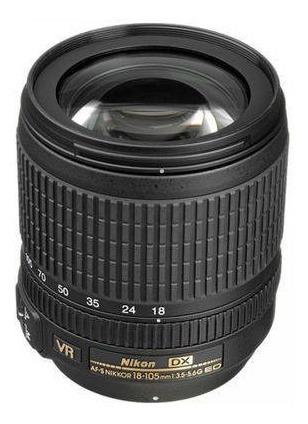 Lente Nikon 18-105mm F/3.5-5.6g Dx Af-s Vr - Usada
