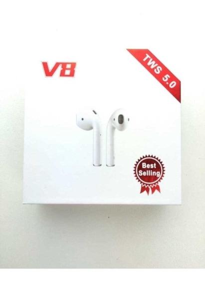 Fone De Ouvido Bluetooth V8 Pronto Envio Novo