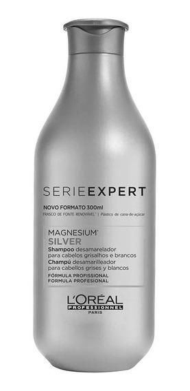 Shampoo Serie Expert Silver Loréal Professionnel 300ml