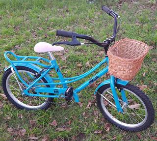 Bicicleta Rodado 16 Nenas Rondinella Vintage Ram