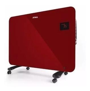 Atma Panel Calefactor Radiador Vidrio Rojo Envió Gratis