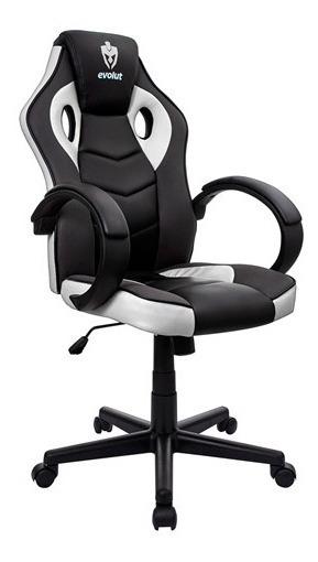 Cadeira Gamer Evolut Branca Eg-901