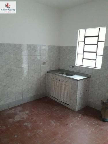 Casa Para Alugar No Bairro Vila Amélia Em São Paulo - Sp.  - Ga134-2