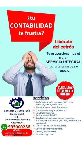 Servicios Contables Y Tributarios Profesionales Calificados