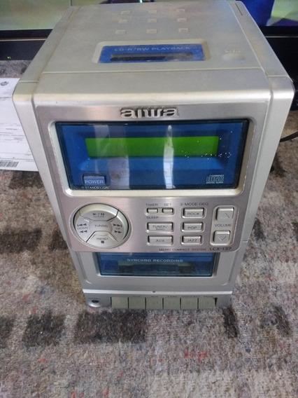Micro System Aiwa Com Defeito Lcx-137lh