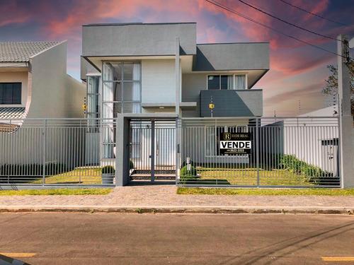 Imagem 1 de 15 de Sobrado Para Venda Em Guarapuava, Santana, 3 Dormitórios, 1 Suíte, 3 Vagas - Sb-0047_2-1189494