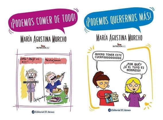 Pack Agustina Murcho - Podemos Comer De Todo + Querernos Más